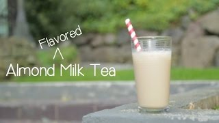 Almond Flavored Milk Tea (like Chinese Almond Tofu)