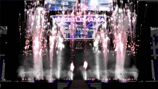 WWE Wrestlemania 23 Opening Pyro Animation