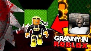 ESCAPING GRANNY'S HOUSE IN ROBLOX - Granny Horror in Roblox!?