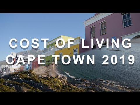 Cost of living in Cape Town (South Africa)
