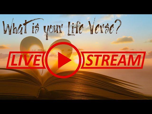 July 11, Pastor Amy, Life Verse Sermon Series