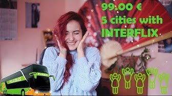 Interflix Review-5 cities for 99.00 €-travel vlog