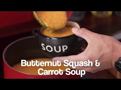 Butternut Squash & Carrot Jason Vale Soup Recipe