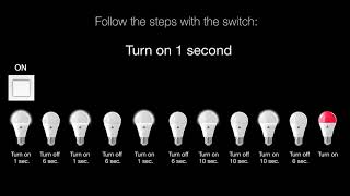 AwoX SmartLIGHT Mesh - How to reset a bulb or a remote control