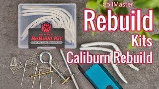 Uwell Caliburn Rebuild Tut๐rial with CoilMaster Rebuild Kits?