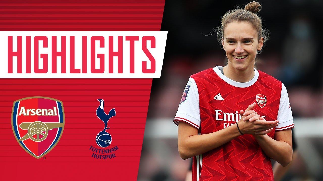 HIGHLIGHTS | Arsenal vs Tottenham (6-1) | Miedema breaks goalscoring record!