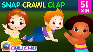 Snap Snap Actions Song | Original Educational Learning Songs & Nursery Rhymes for Kids | ChuChu TV thumbnail