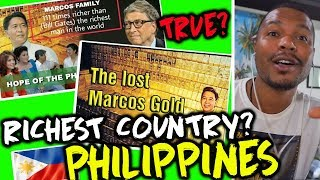 MARCOS GOLD AND THE RICHEST COUNTRIES IN THE WORLD - REACTION