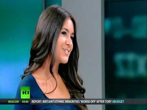Bianca Facchinei RT America Presenter