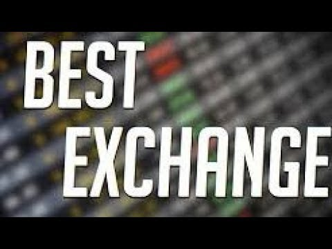 Best place to exchange cryptocurrency