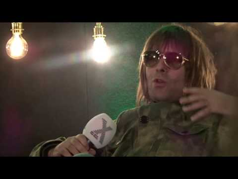 Radio X in conversation with... Liam Gallagher talking about his tweets 16/10/2016