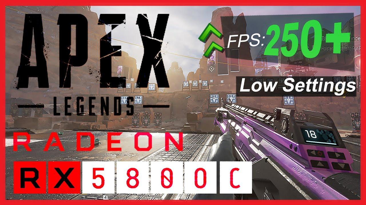 Apex Legends Rx 580 Low Settings + Overclock | apex legends