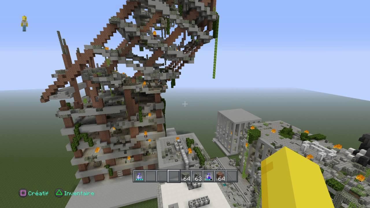 Minecraft ville apocalyptique zombie youtube - Video de minecraft ville ...