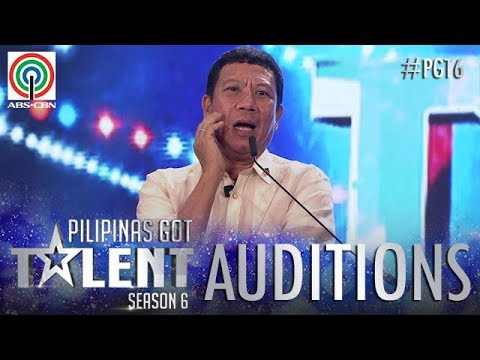 Pilipinas Got Talent 2018 Auditions: Cresencio - Estremos Jr. - Impersonation