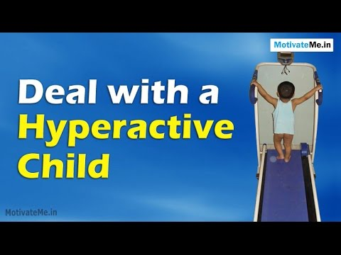 10 Ways to Deal with a Hyperactive Child