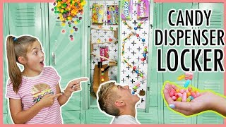 Back To School DIY Locker Candy Dispenser | Best Locker Decor!