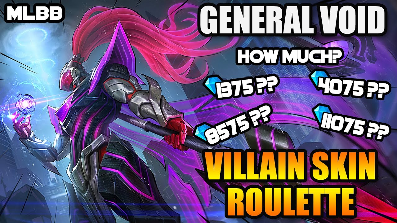 Download HOW MUCH IS ALPHA'S VILLAIN SKIN? GENERAL VOID - HEROES ROULETTE EVENT - MLBB WHAT'S NEW? VOL. 109