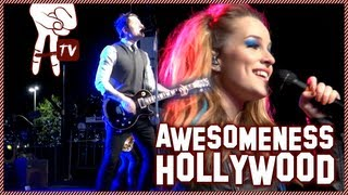 Rock the Red Kettle Concert with Bridgit Mendler - Awesomeness Hollywood