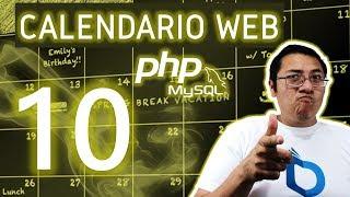 Calendario web con PHP y MySQL utilizando fullcalendar (Video 10 - formulario en modal)