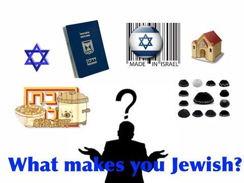 What makes you Jewish?