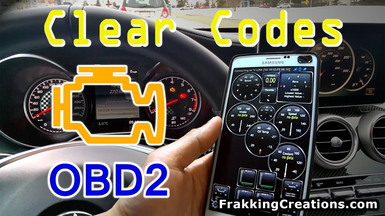Clear Check Engine Light >> How To Reset Check Engine Light Clear Codes With Smartphone App Obd2 Bluetooth Adapter