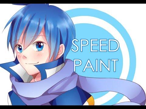 Speedpaint - Kaito (Vocaloid)