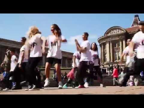 Leicester Music Festival Flash Mob - Capital FM (Addict Crew)