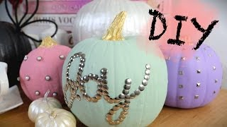 Diy Thanksgiving Pumpkin Home Decor | Anneorshine