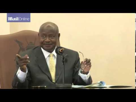 Uganda's president signs controversial anti gay bill