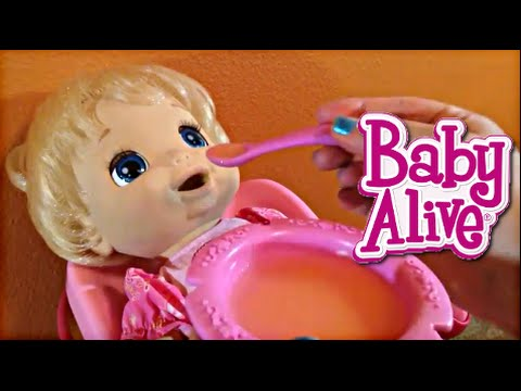 Baby Alive 2006 Soft Face Doll Feeding Beatrix In The New