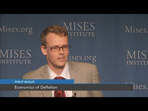 Economics of Deflation | Philipp Bagus