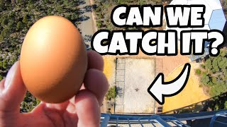 How High Can You Catch an Egg?...