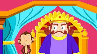 The Foolish Monkey And The King - Animated Short Story For Kids