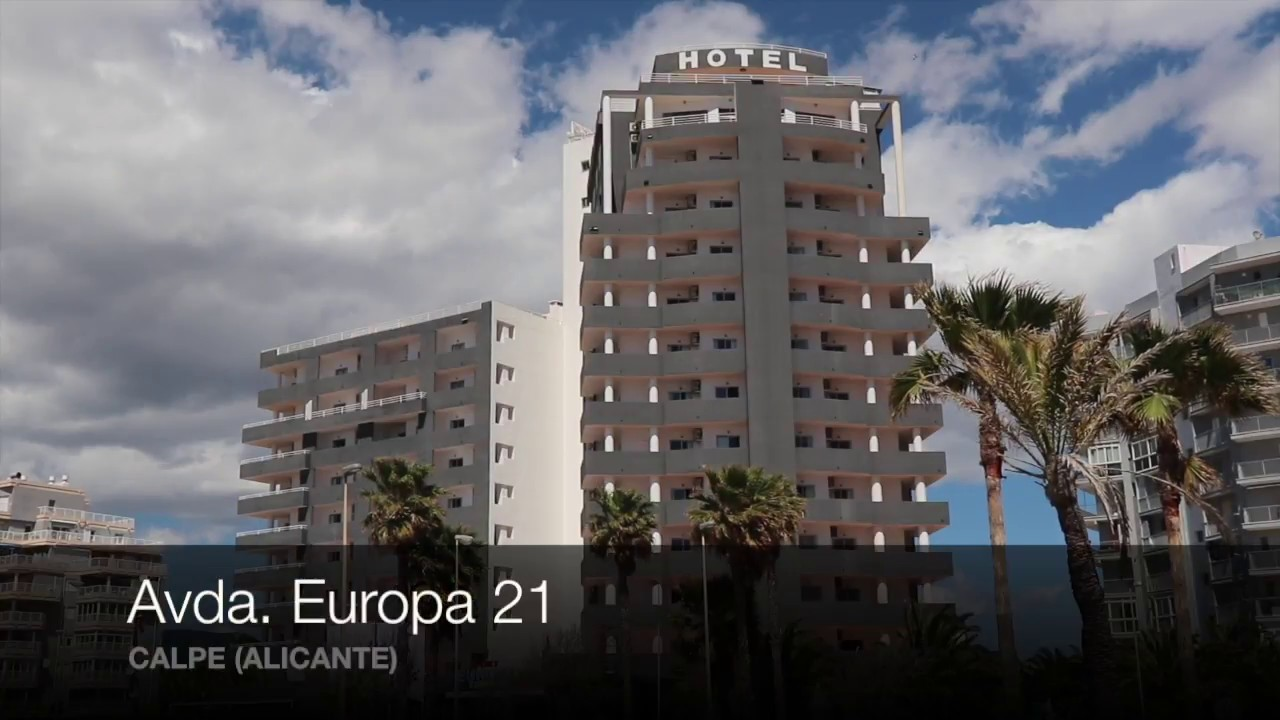 Hotel port europa calpe youtube for Hotel europa calpe