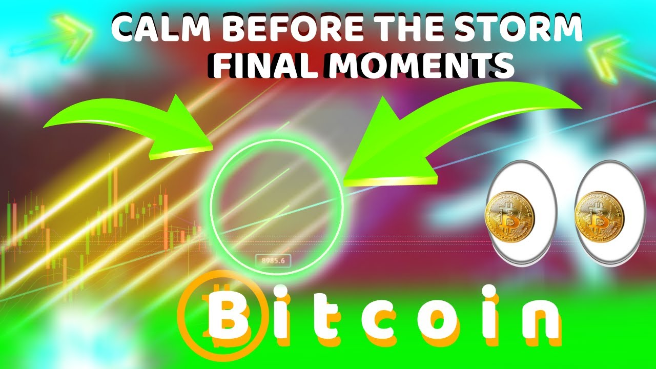 BITCOIN CALM BEFORE THE ERUPTION - THESE 5 CHARTS SHOW BTC NEXT MOVE - AND IT'S SHOCKING!!!