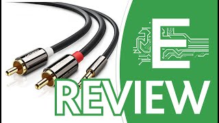 UGREEN 3.5mm to 2RCA Audio Auxiliary Stereo Y Spli Review
