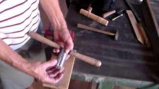 como fazer roscas em madeiras ( threads in woods )