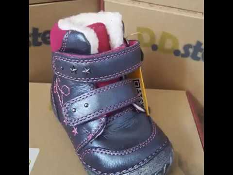 d241e21de5 PöttömShop Gyerekcipőbolt ajánlata: DDSTEP téli bundás gyerekcipő lányoknak  19-24 méretben