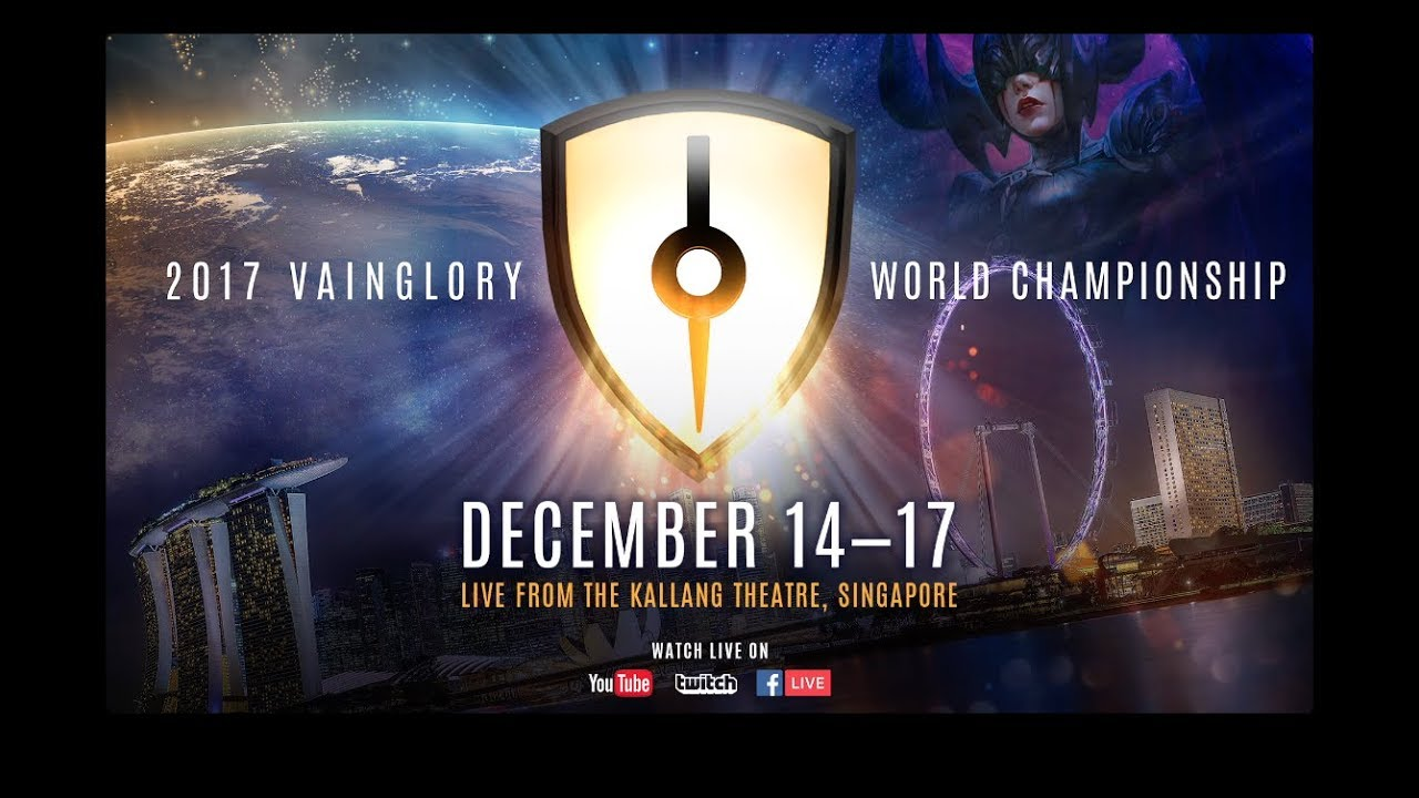 Razer 2017 VAINGLORY World Championship kicks off today at