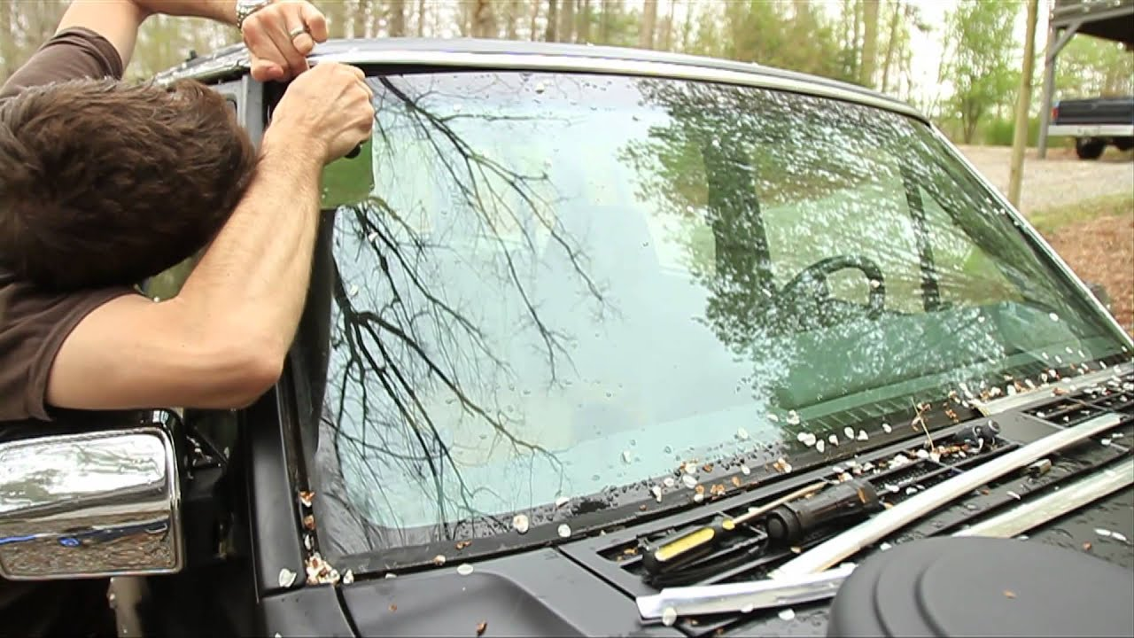 How to Replace Your Windshield Trim  YouTube