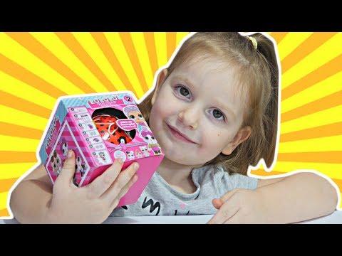 LOLOLOL Copii Amuzante de Papusi LOL cu Eroi/ Sara despacheteaza LOLOLOL