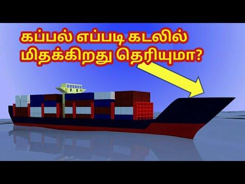 கப்பல் எப்படி கடலில் மிதக்கிறது? | How Ship Floats | Archimedes Principle | Science And Tech Tamil