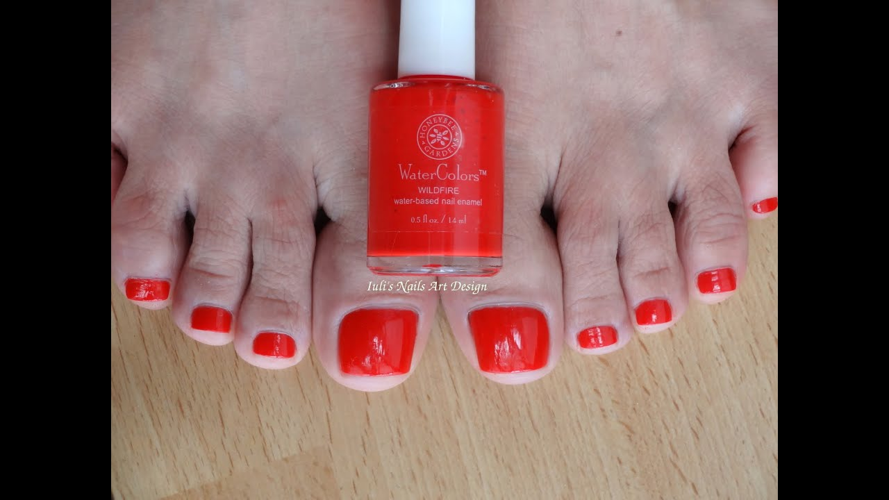 First Impression Demo Review WILD FIRE Water based nail polish Vegan ...
