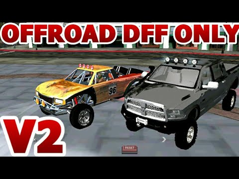 Gta Sa Android Offroad Vehicles Dff Only No Txd V2 Youtube