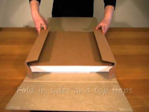 Canvaspak Stretched Canvas Shipping Box