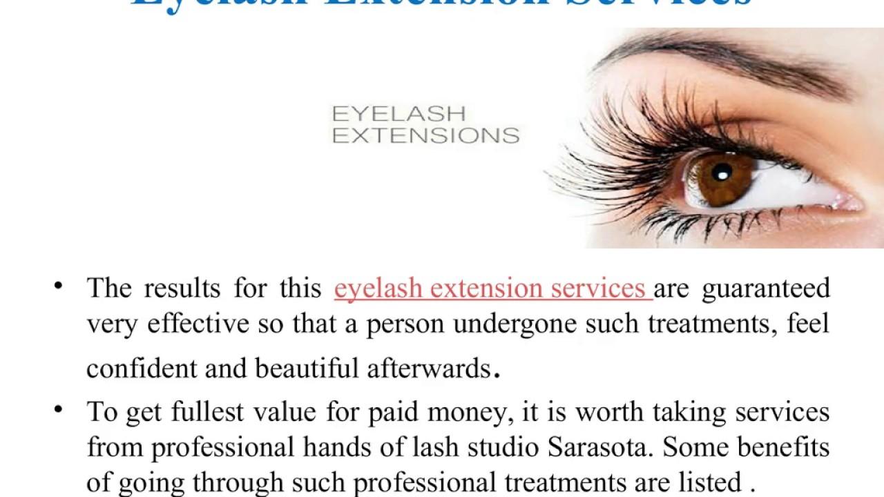 Leading Eyelash Extension Studio in Sarasota - YouTube