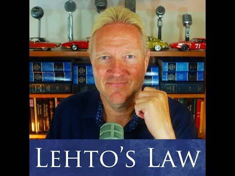What To Do When The Insurance Company Totals Your Car - Lehto's Law Ep. 4.41