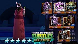 Черепашки-Ниндзя: Легенды - ПЛАТИНОВЫЙ СПЛИНТЕР ПРОТИВ ВСЕХ БОССОВ (TMNT Legends UPDATE X)