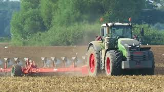 Fendt 1050 German Meisterwerk am pflügen