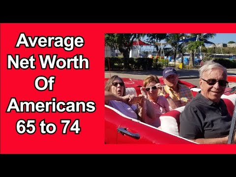 Retirement Planning: Average Net Worth of 65 to 74 year old American Couple